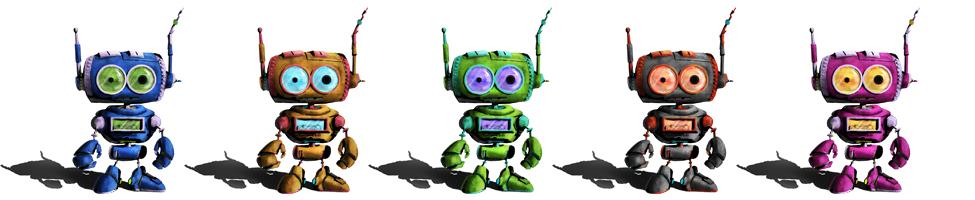 Robot colors!