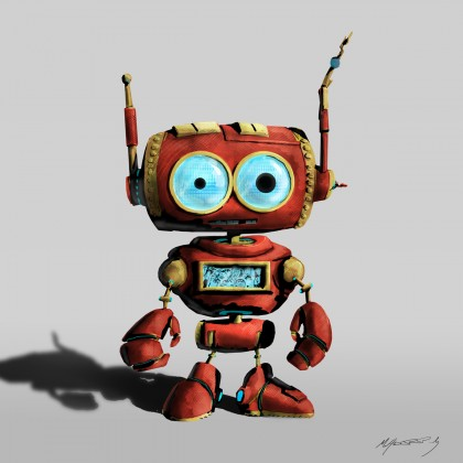 Little Robot - Matthew R. Pauly