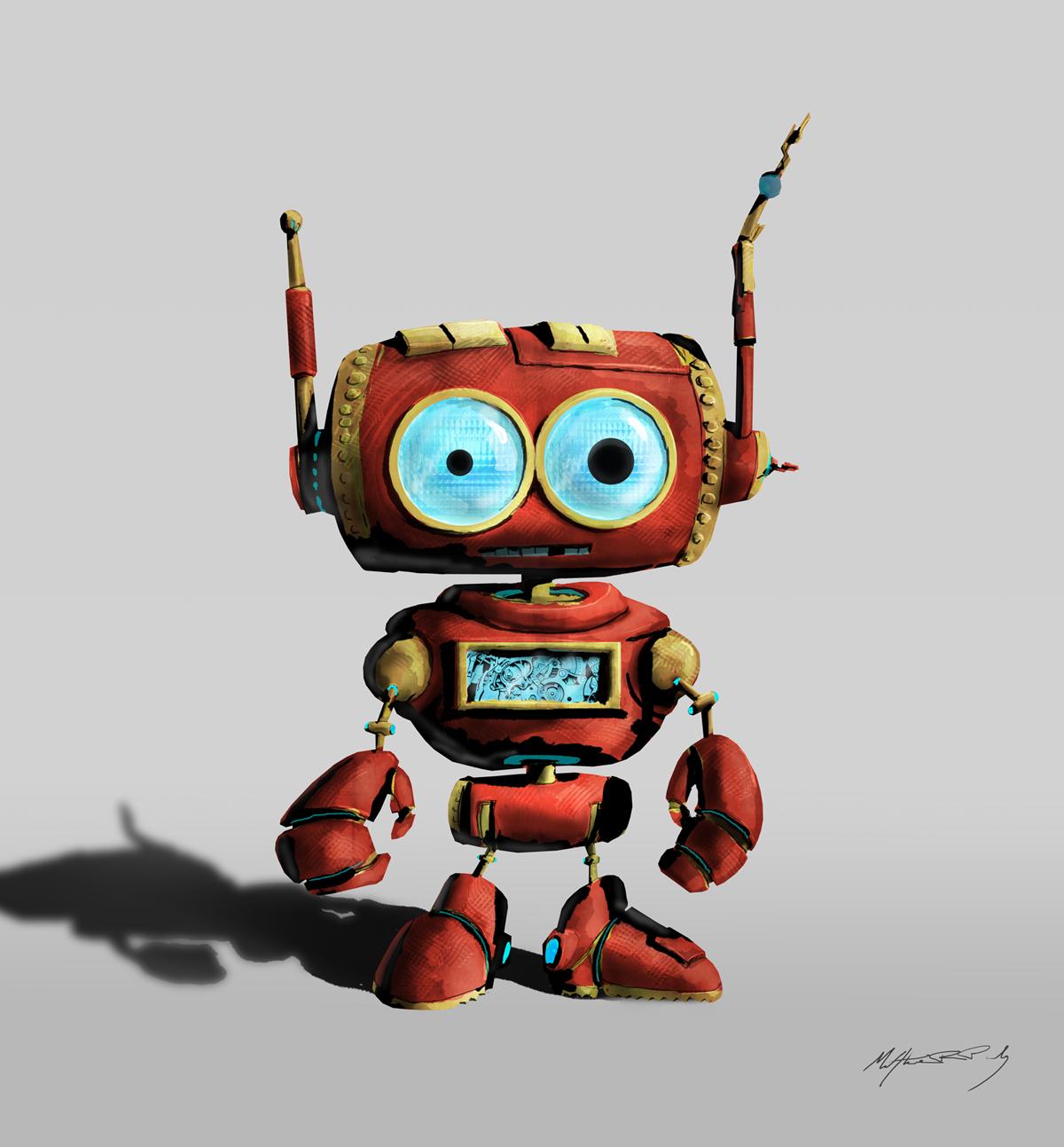 Little Robot - Matthew R. Pauly