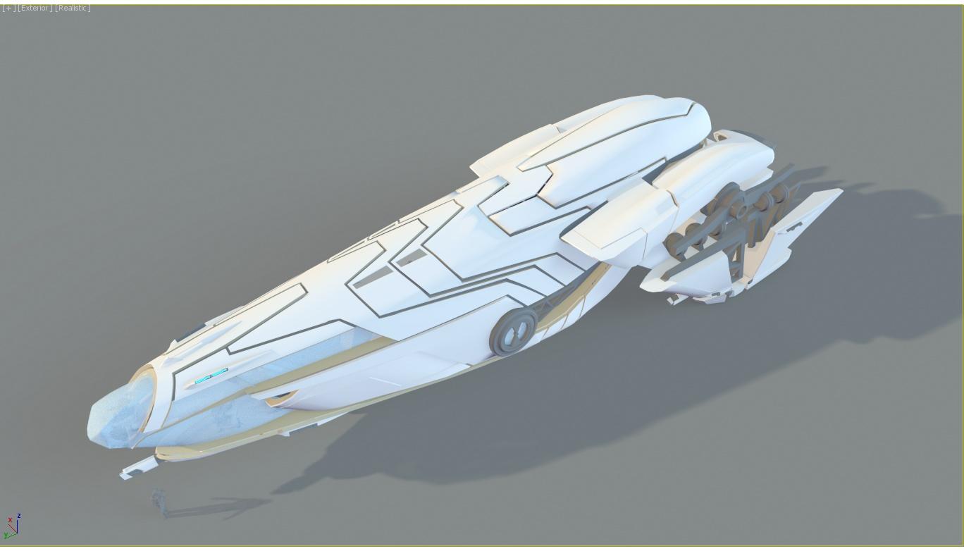 Star Citizen Fan Concept Ship